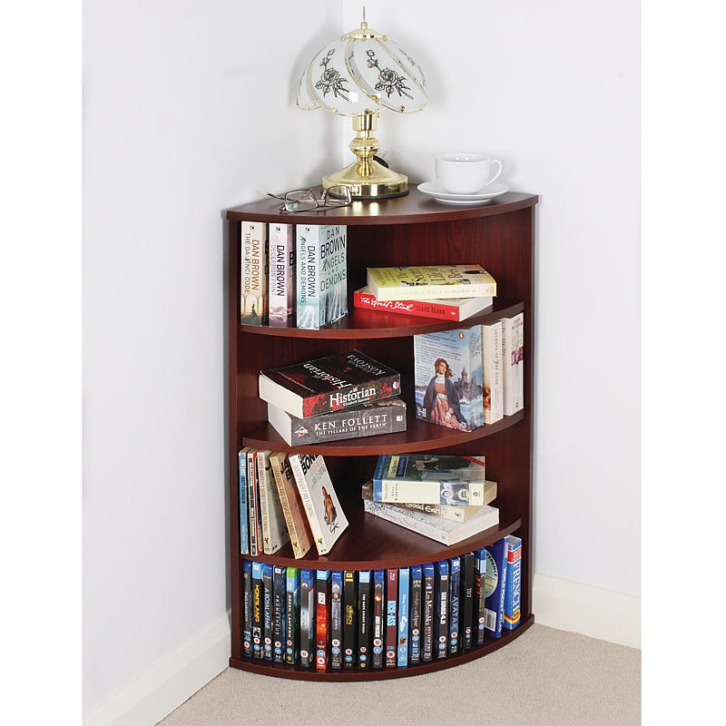 alternate product - Coopers Of Stortford 4 Shelf Corner Bookcase From Coopers Of Stortford