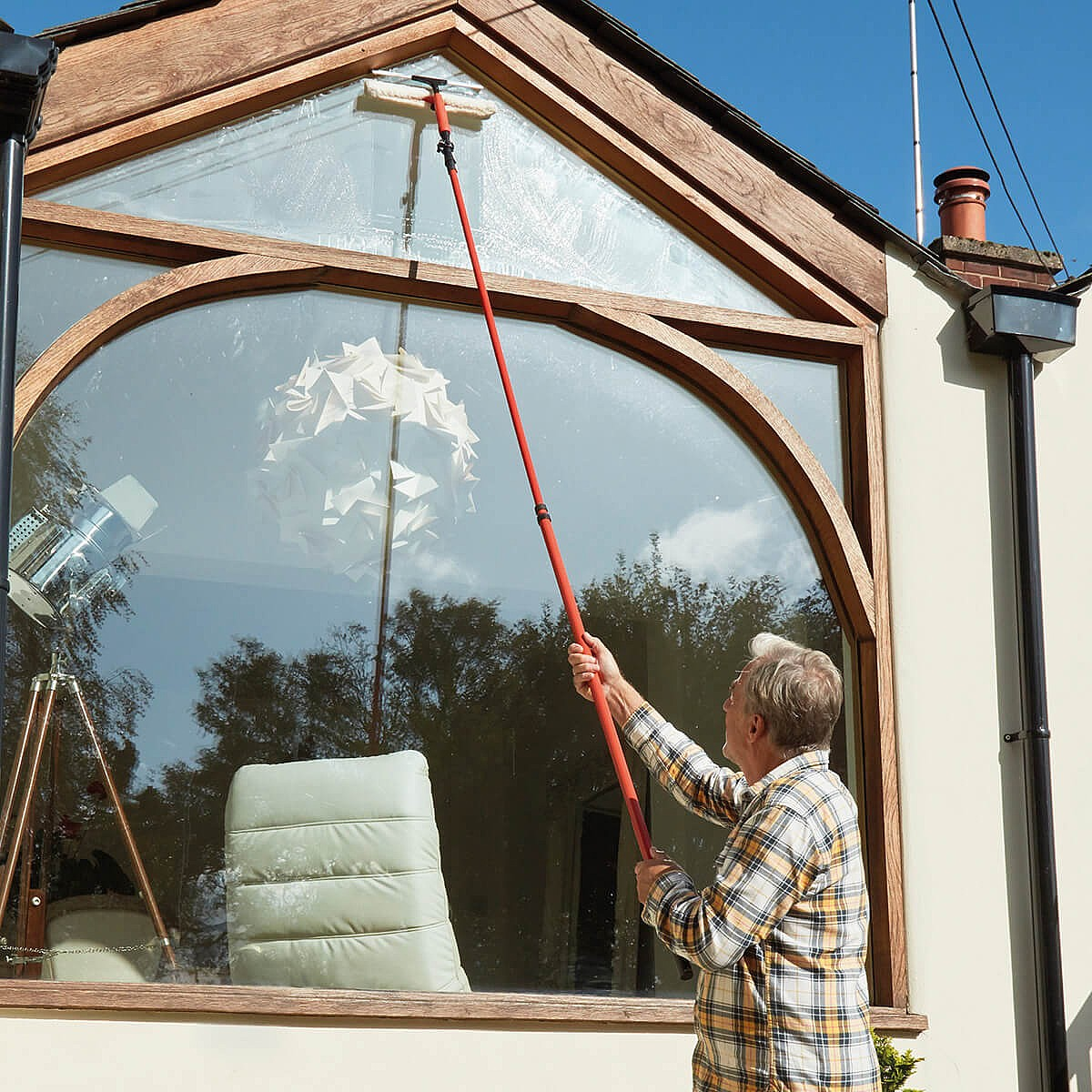 Cleaning Telescopic Window Cleaner