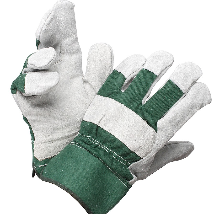 Coopers of Stortford Leather Palmed Gardening Gloves from Coopers