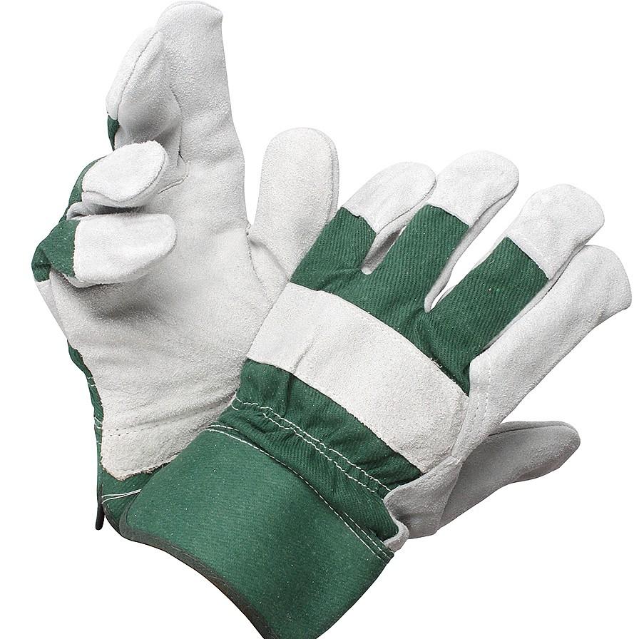 Leather Palmed Gardening Gloves Garden Coopers Of Stortford