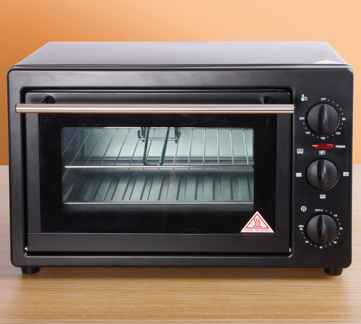 Image of Black 22 Litre Oven