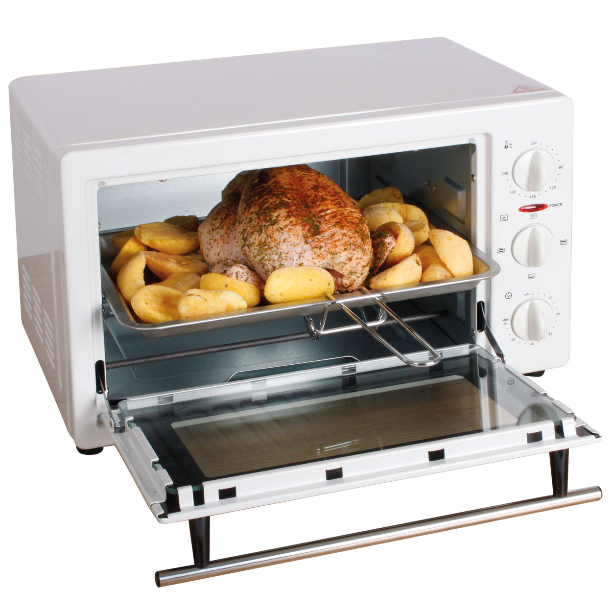 Image of White 22 Litre Oven
