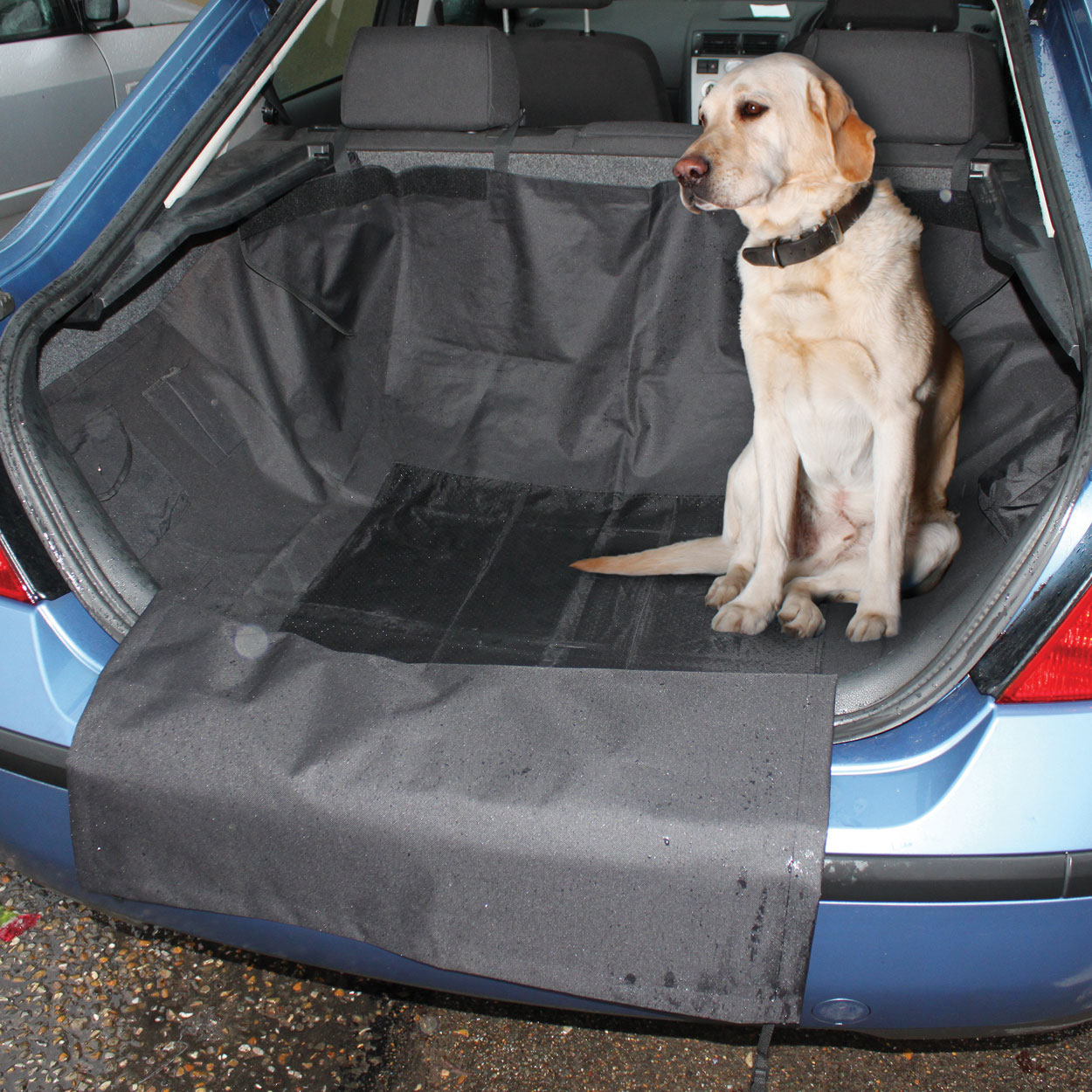 Car boot liners for dogs