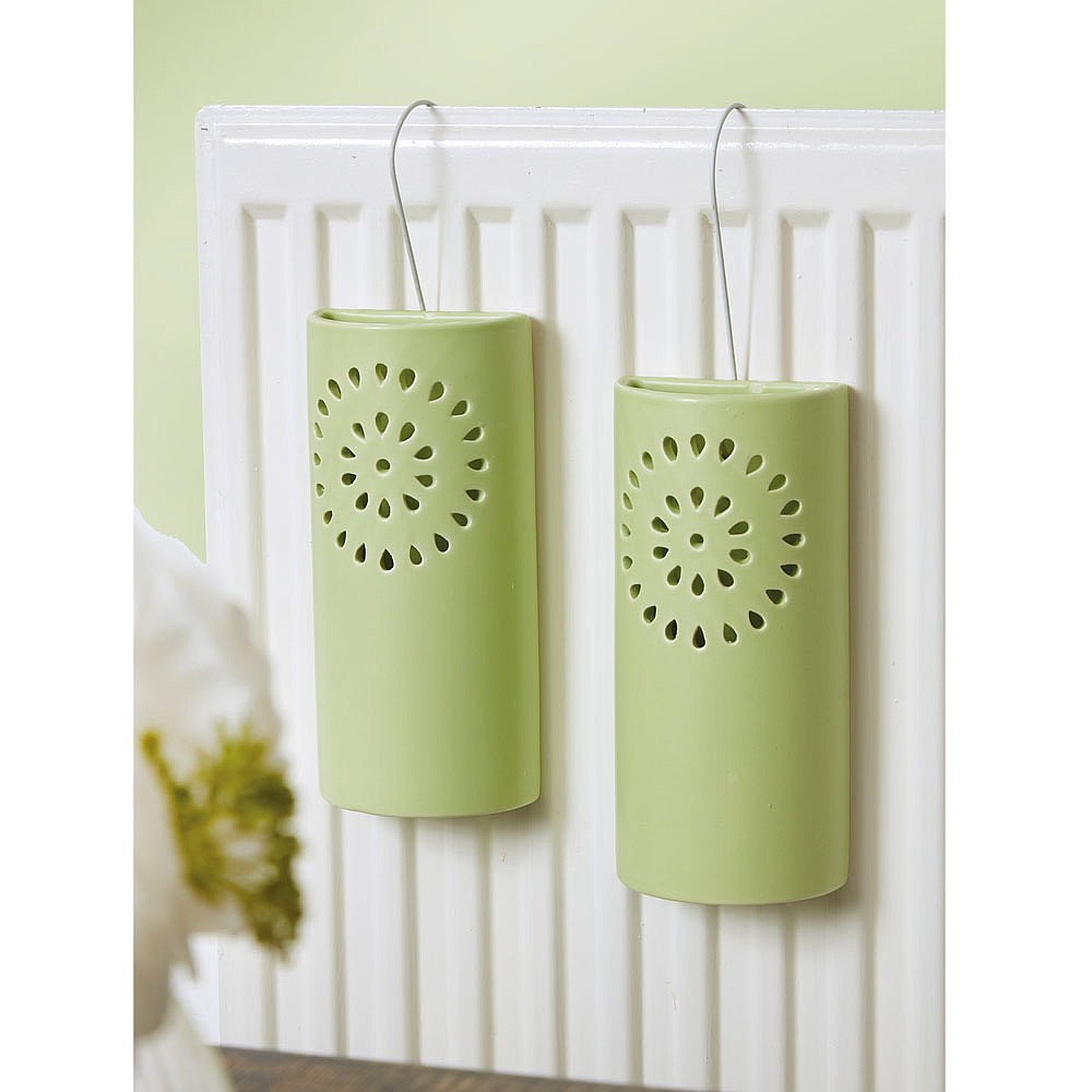 Set of 2 Ceramic Humidifiers