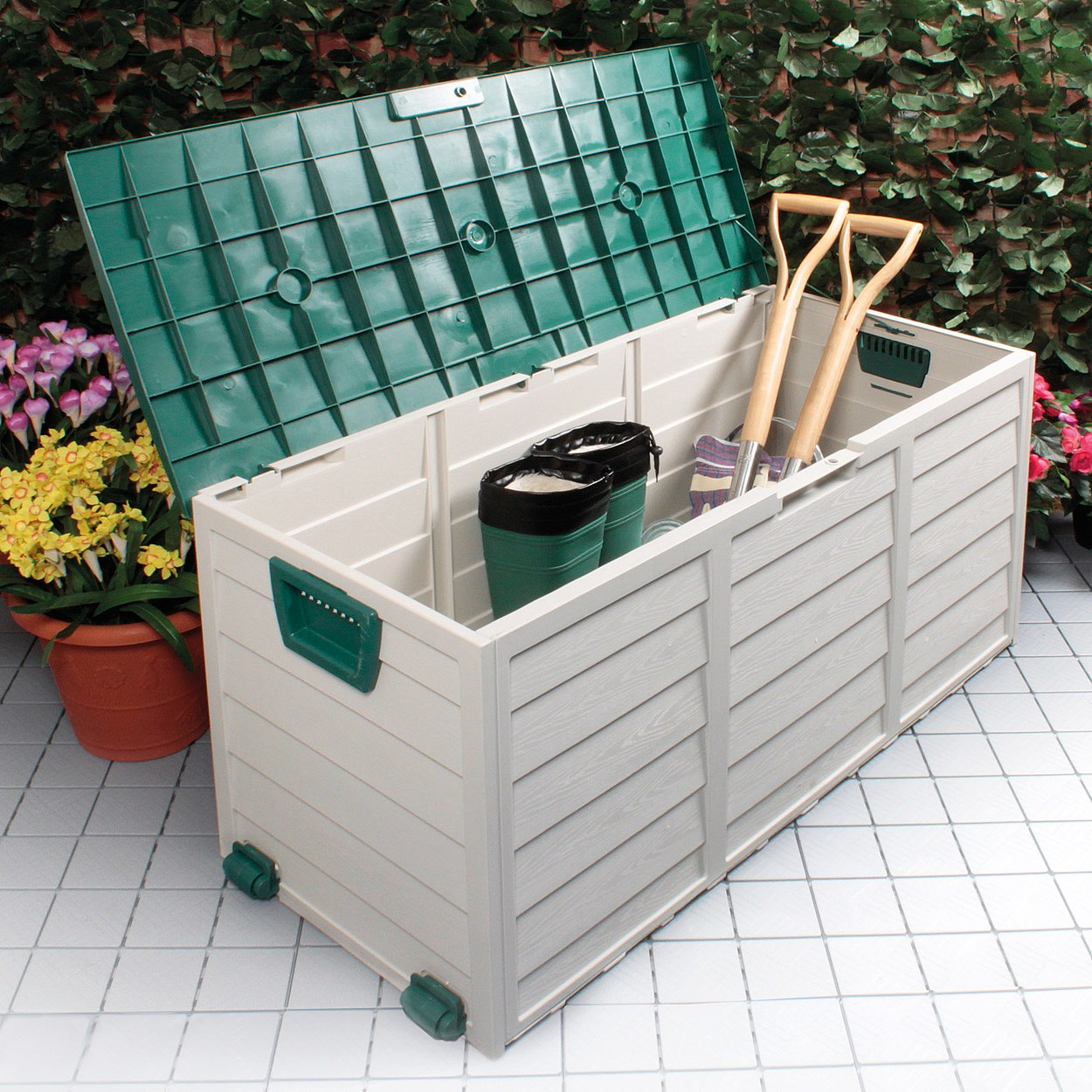 Garden Storage Box Garden Coopers Of Stortford
