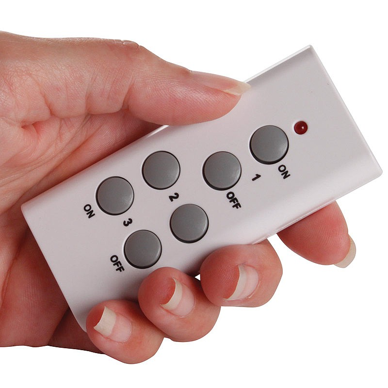 Set Of 3 Remote Control Sockets Home Coopers Of Stortford