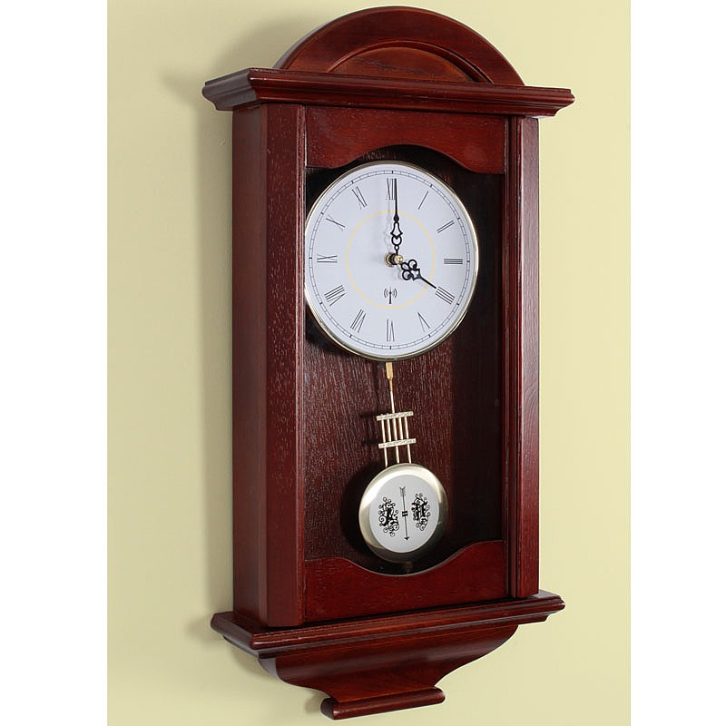 Coopers Of Stortford Radio Controlled Pendulum Clock From