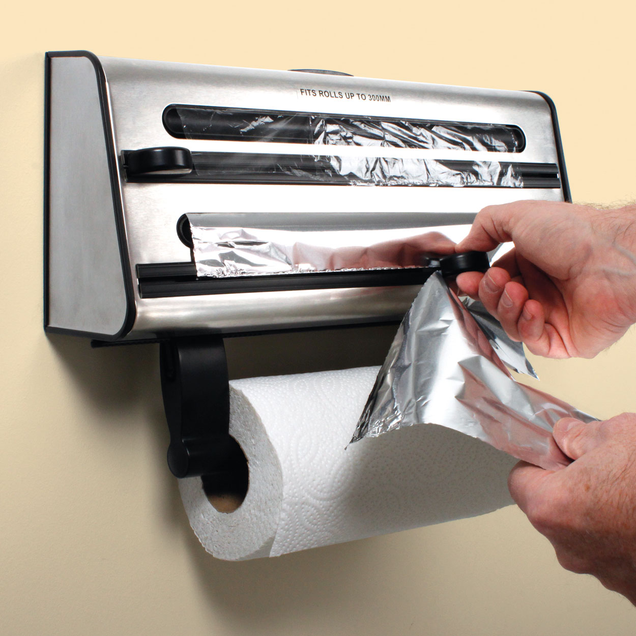 3In1 Kitchen Roll Dispenser