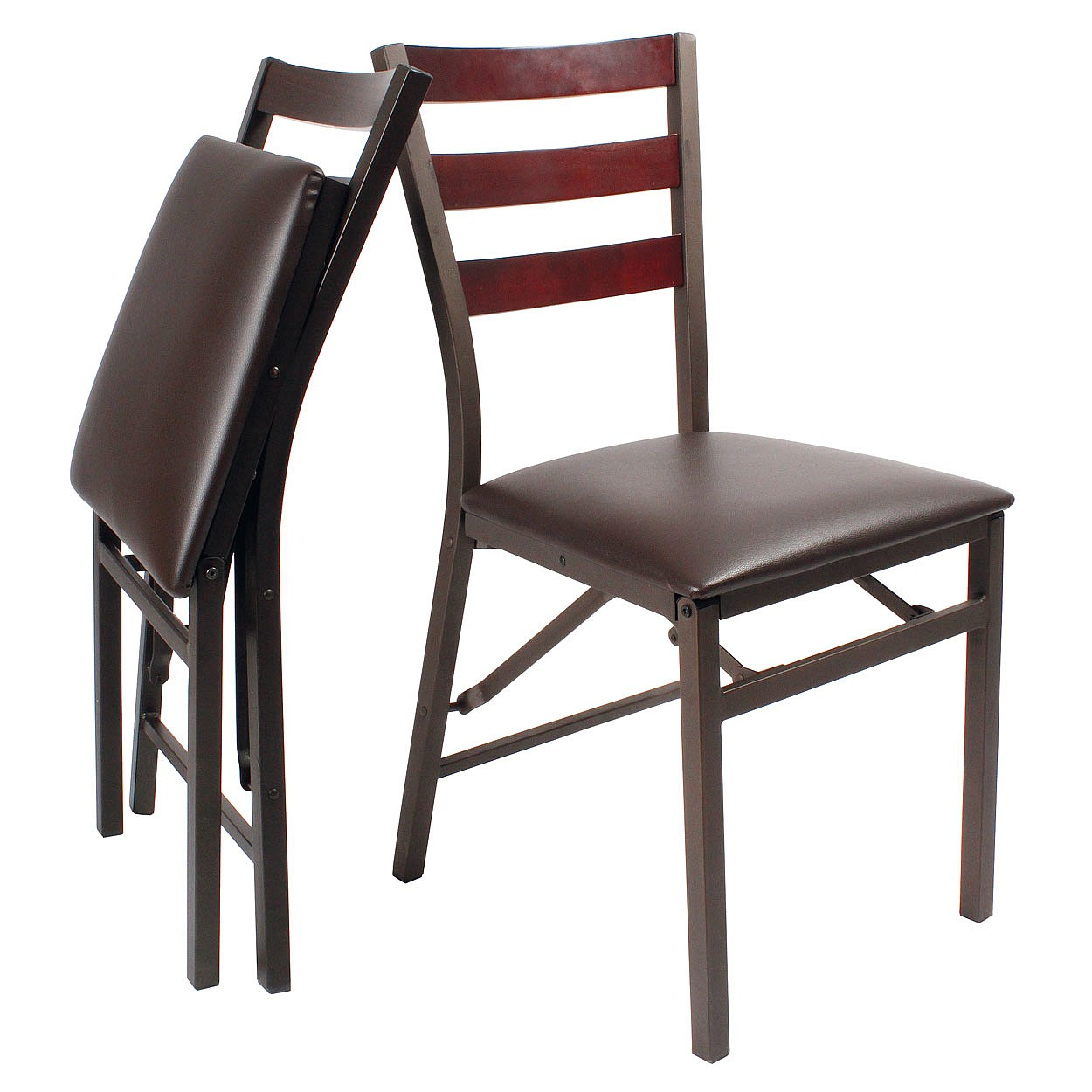 Coopers of Stortford Set of 2 Folding Dining Chairs from Coopers – Foldable Dining Chairs