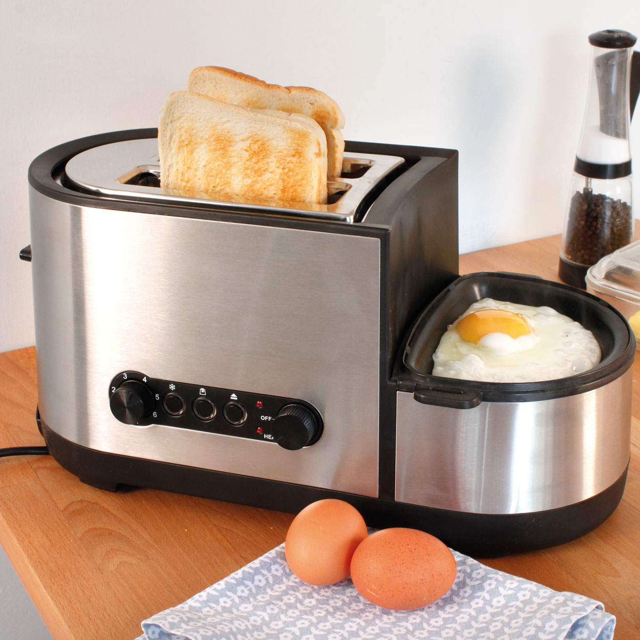 Image of Toaster & Egg Cooker