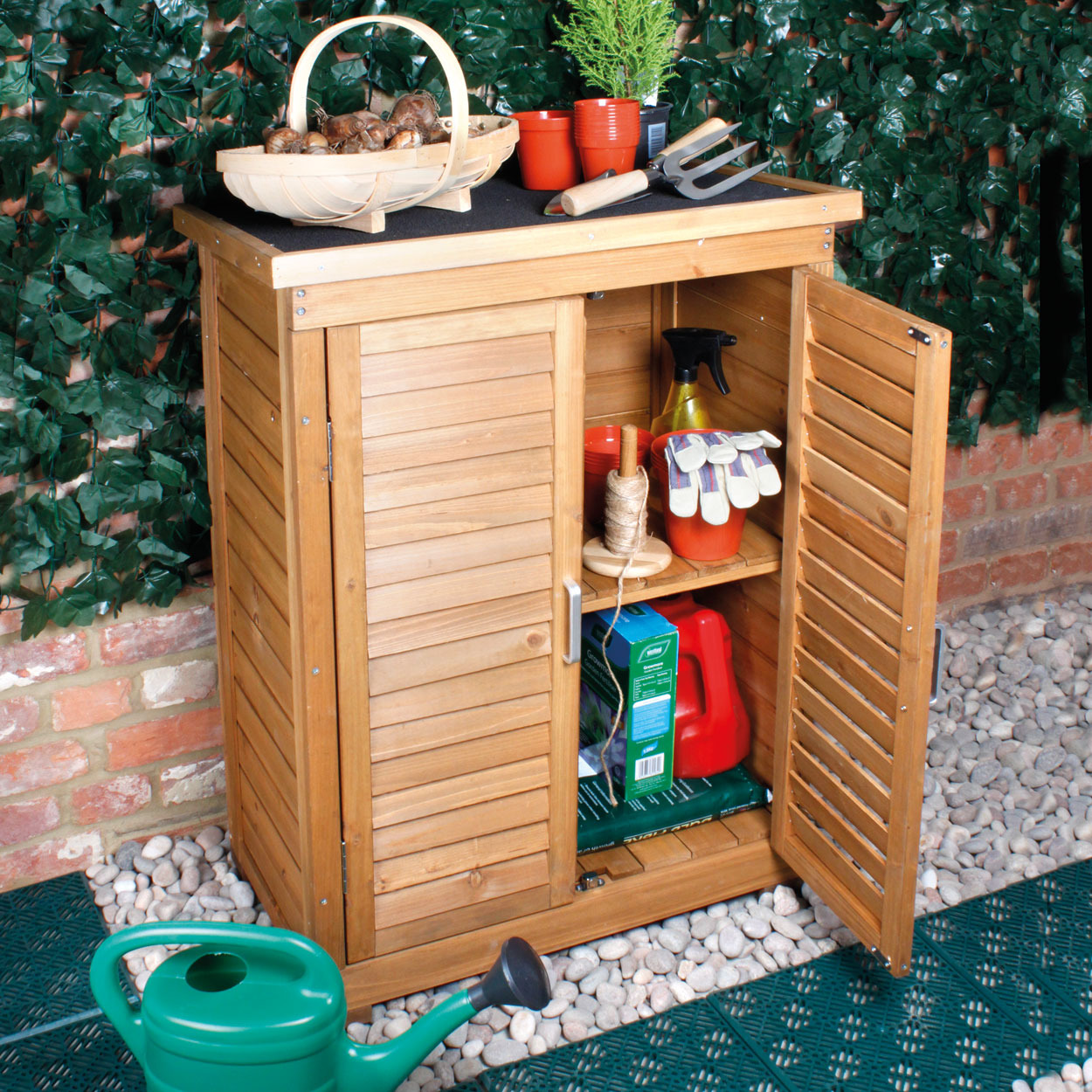 69X96Cm Wooden Cabinet