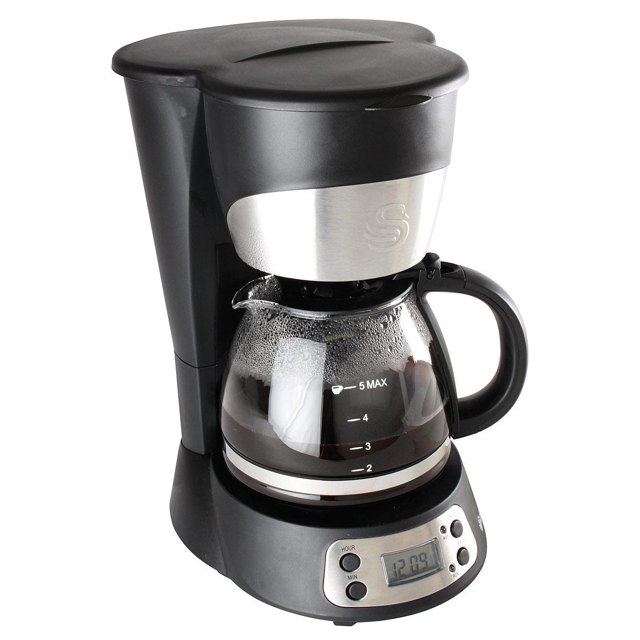 Swan Coffee Maker Black