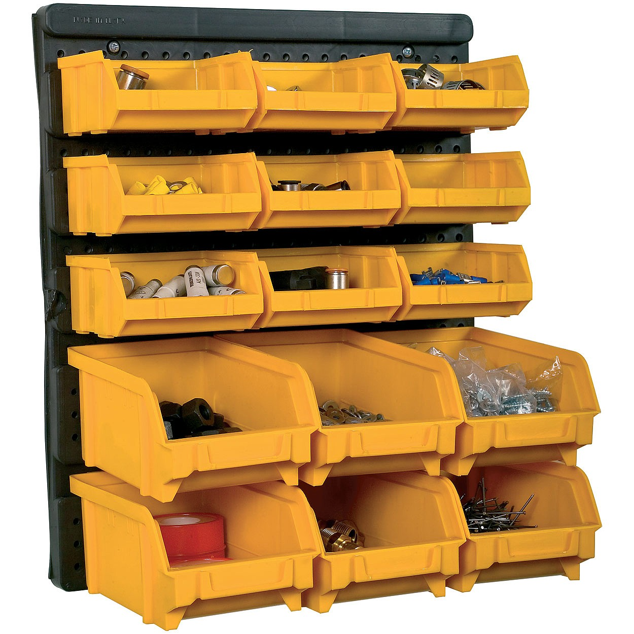 Image of 15 Bin Tool Storage