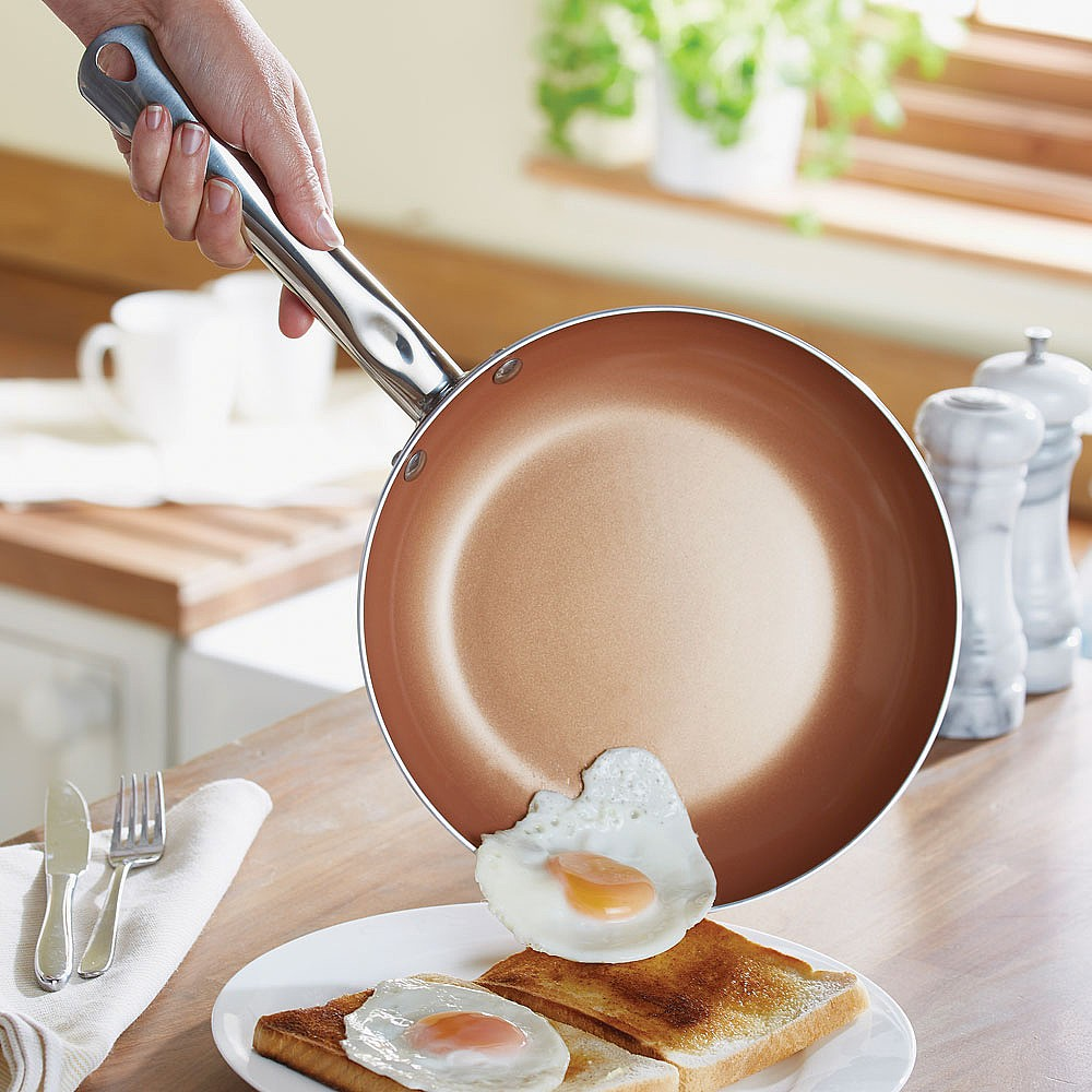 Copper King Frying Pan 20Cm by Coopers of Stortford
