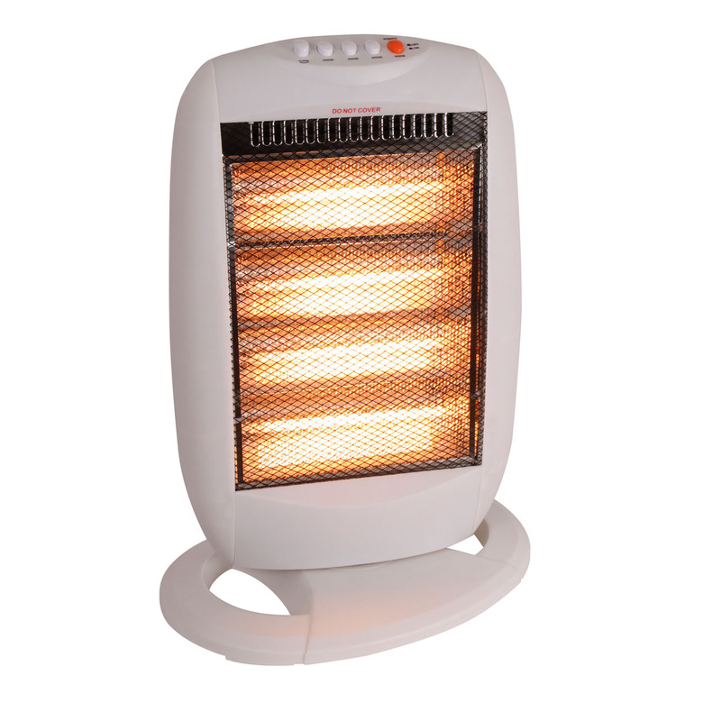 1600w Oscillating Halogen Heater - Buy 1 Get 1 Free