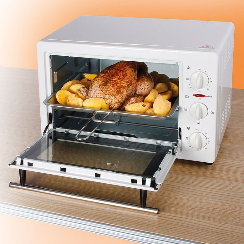 Image of Compact 22-Litre Oven/Grill Colour - Black