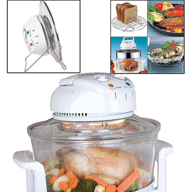 Cookware & Utensils Halogen Oven + Lid Stand + Accessory Pack