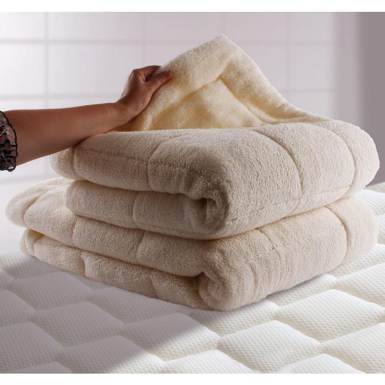 Fleece Mattress Topper Size  Double
