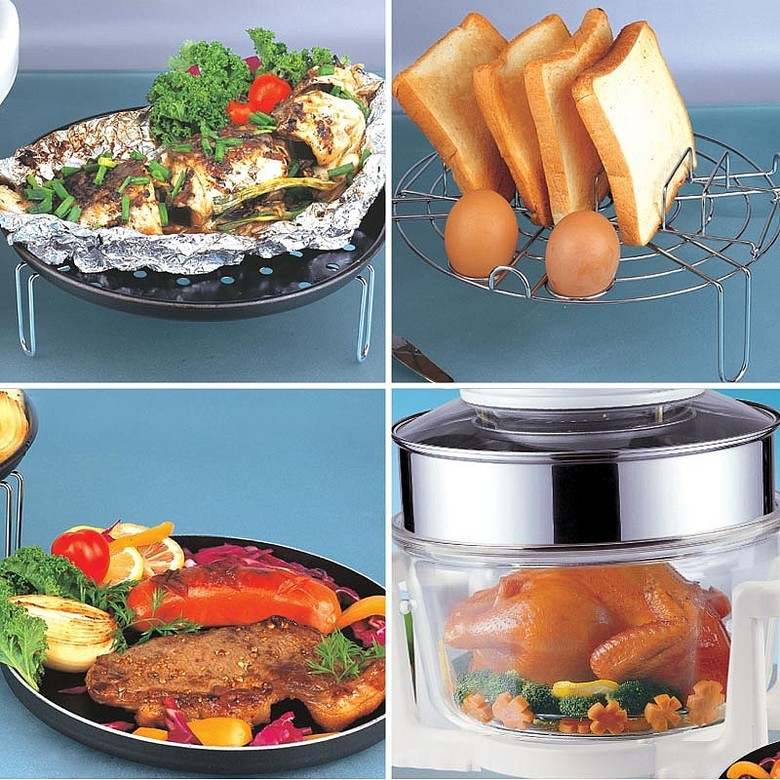 Halogen Oven Accessory Pack and Lid Rest