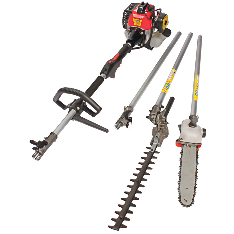 2-in-1 Extendable Chainsaw & Hedge Trimmer