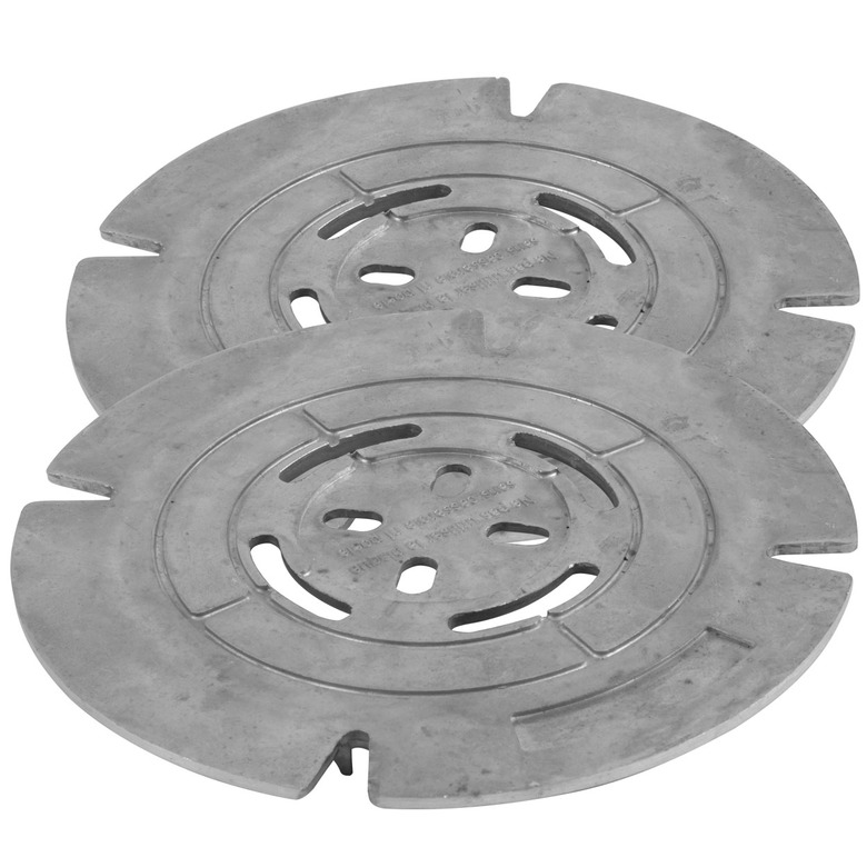 Gas plate x2