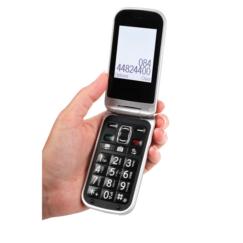 Home Telephone Accessories Easy Use Flip Phone