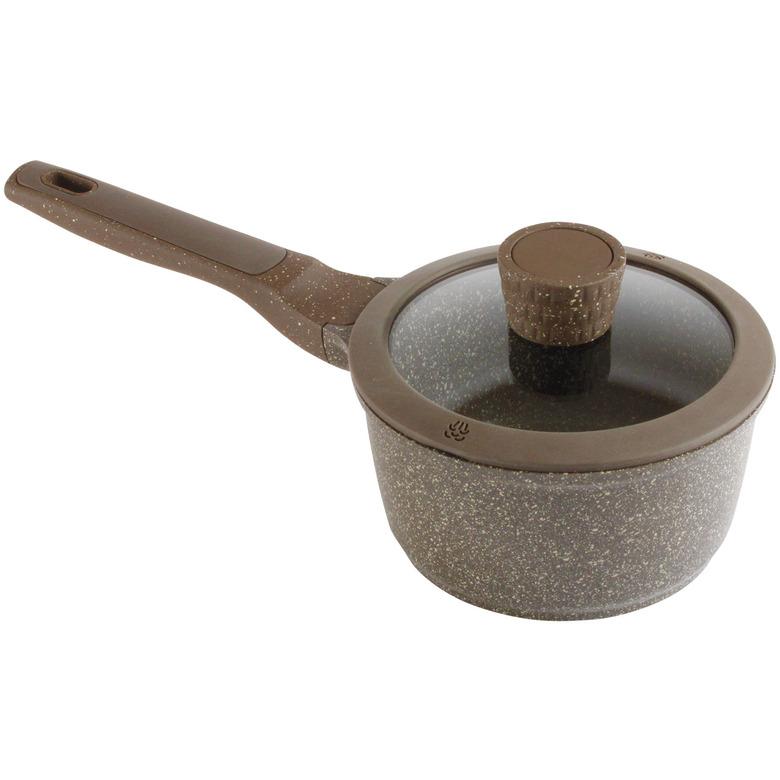 16cm Saucepan with Glass Lid