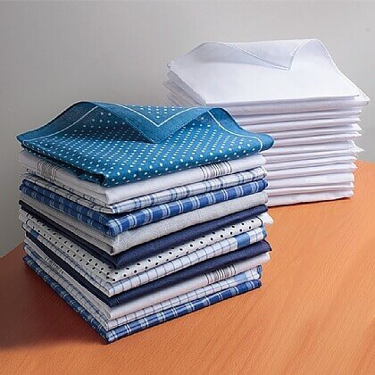 Mens Handkerchiefs - Buy 2 & Save £2