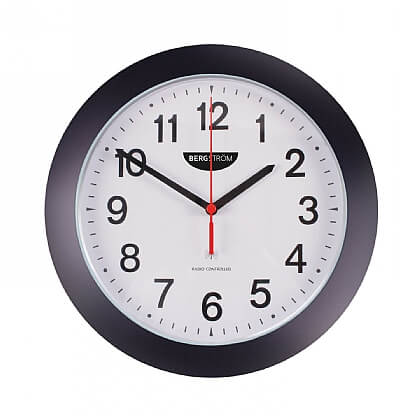 Radio Controlled Wall Clock - Single Item