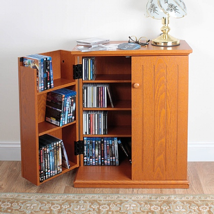 Double Media Cabinet