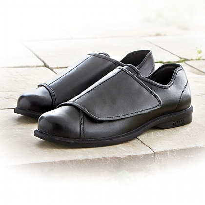 Men's Wide Fit Leather Shoes