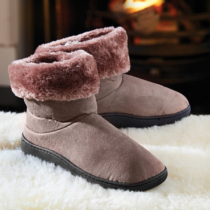 Mink Thermal Slipper Boots