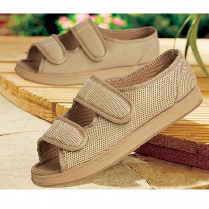 Women's Beige Wide EE Freedom Shoes - Buy 2 Pairs & Save £10