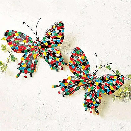Mosaic Butterflies - Buy 2 & Save £5