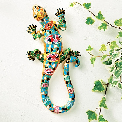 Mosaic Gecko & Butterflies - Buy 2 & Save £5