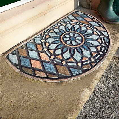 Half Moon Slate Door Mat - Buy 2 & Save £10