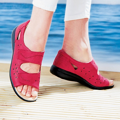 Lightweight Comfort Summer Sandals - Buy 2 Pairs & Save £10