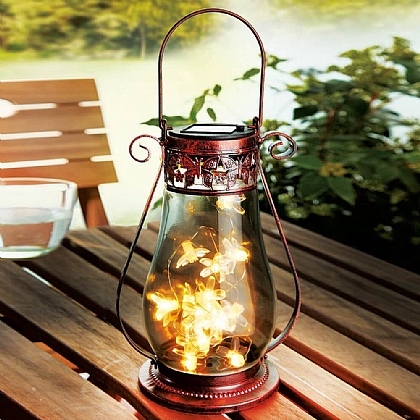 Solar Butterfly Lantern - Buy 2 & Save £5