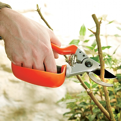 Strain-Reducing Secateurs