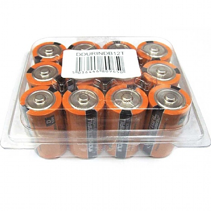 Duracell D Batteries - Pack of 12
