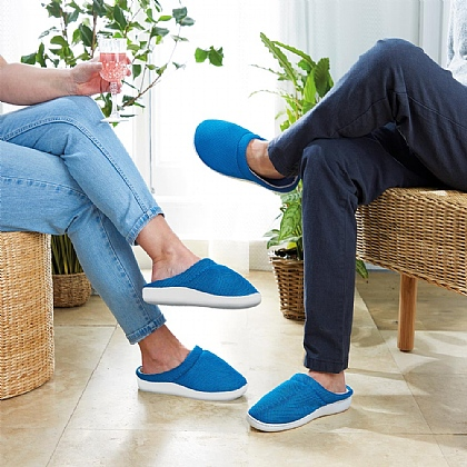 Blue Unisex Gel Slippers - Buy 2 & Save £10