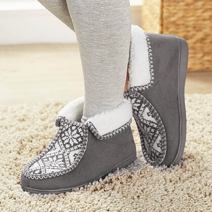 Nordic Ankle Slippers - Buy 2 & Save £6