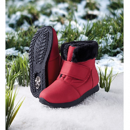 Women's Red Arctic Snow & Ice Boots