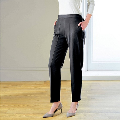 2 Way Stretch Elasticated Trousers - Buy 2 & Save £5
