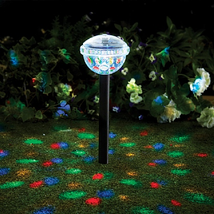 Set of 2 Dancing Solar Lights