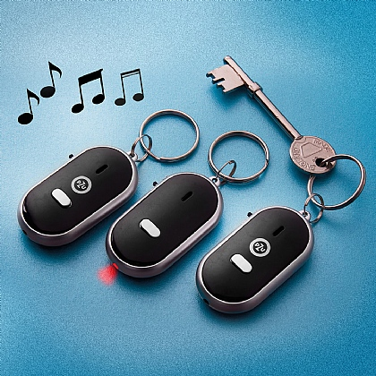 Set of 3 Whistle Key Finders