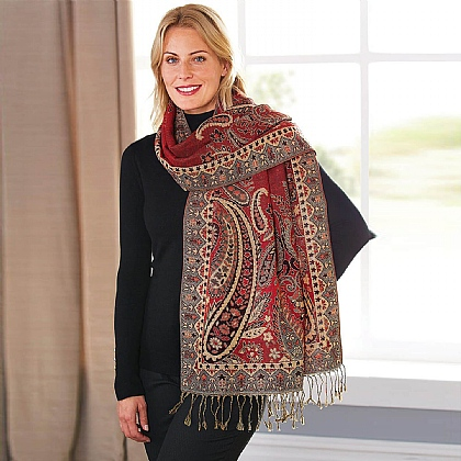 Paisley Scarf - Buy 2 Get 1 Free