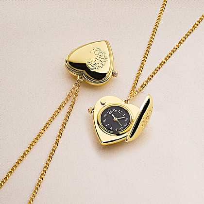 Heart Watch Locket