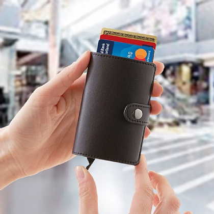 RFID Slideout Card Wallet