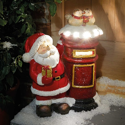 Santa With Post Box